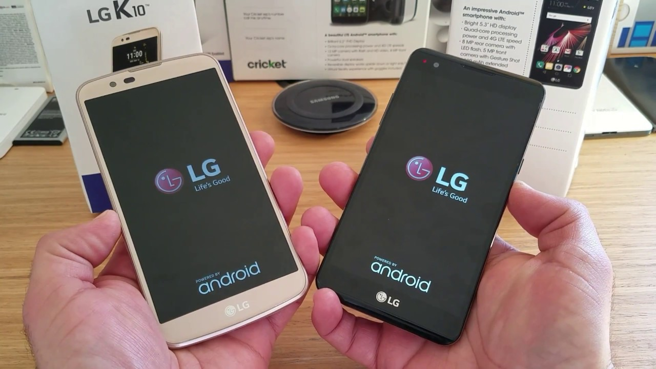 Lg K10 Metro Pcs Vs Lg X Power Cricket Wireless Speed Test Benchmark Test Youtube