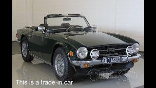 Triumph TR6 Cabriolet 1971 -VIDEO- www.ERclassics.com