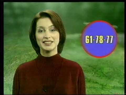 Телекомпания АСВ (Екатеринбург), рекламный блок. Архивная запись 2001.