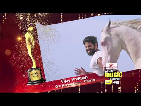 Male Vocalistof the year | Vijay Prakash | Mirchi music awards south 2015