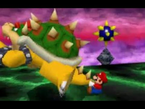 Super Mario 64 DS - 100% Walkthrough Finale - Final Boss Fight and Ending Credits