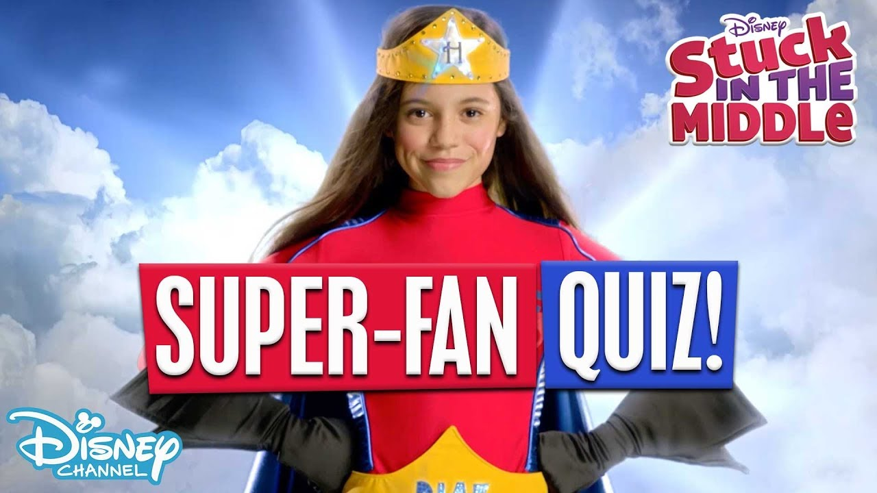 Download Superfan Quiz!    👨👩👧👦Stuck in the Middle   Disney Channel Africa