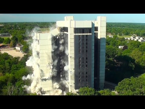 Higgins Residence Hall @ Western Illinois University - Controlled Demolition, Inc.