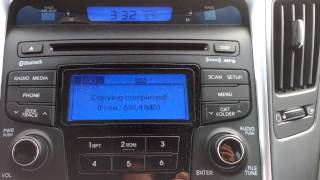 How to copy mp3 to My Music in Hyundai Sonata