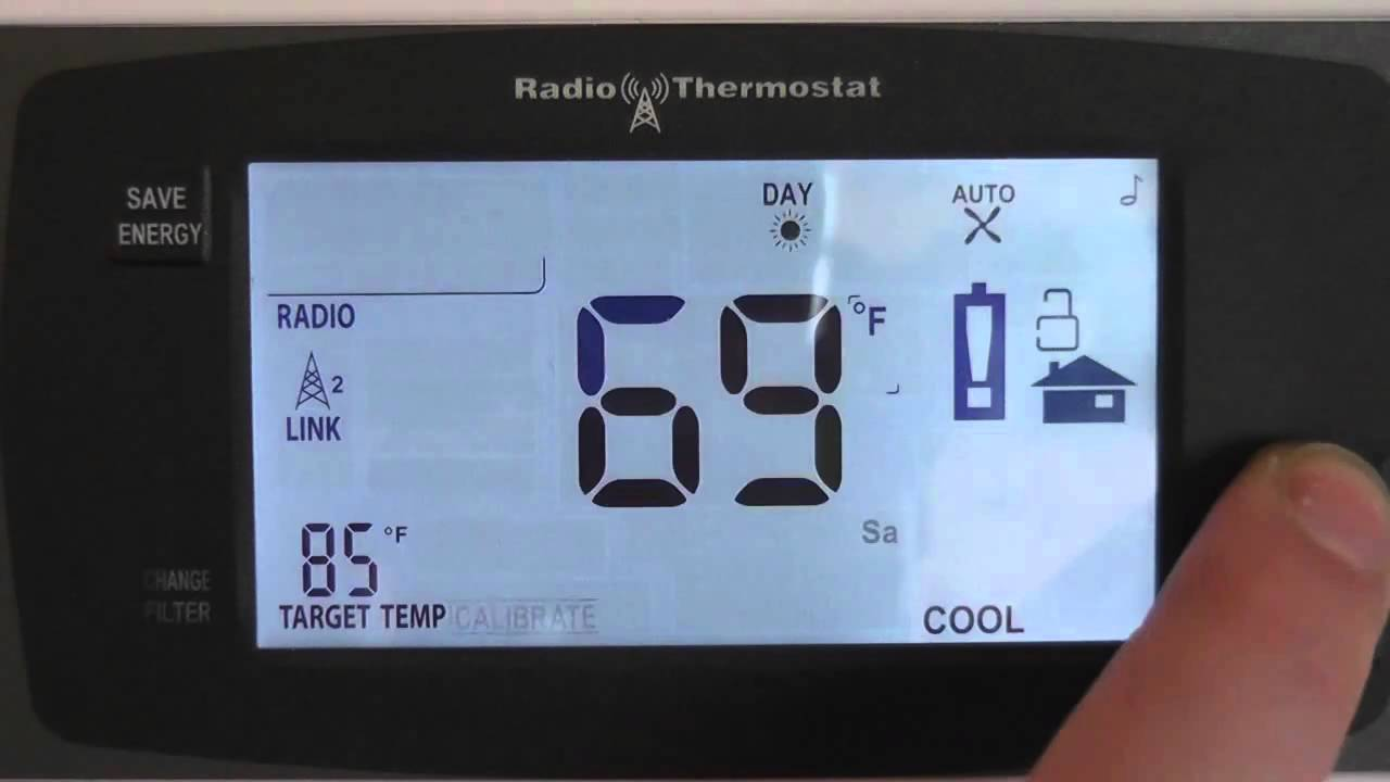 Changing Your Thermostat Between Fahrenheit and Celsius
