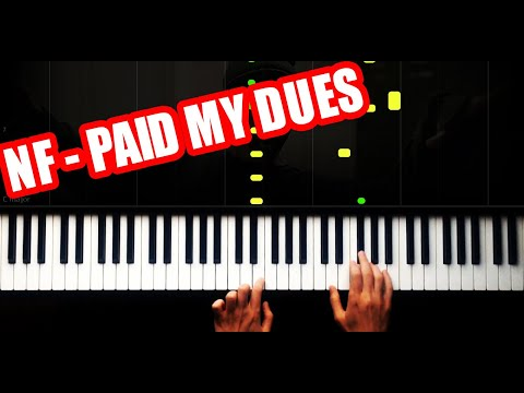 NF - PAID MY DUES - EASY - PIANO TUTORIAL thumbnail