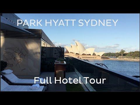 Park Hyatt Sydney: Full Hotel Tour + Otis Gen2 MRL Traction Lifts