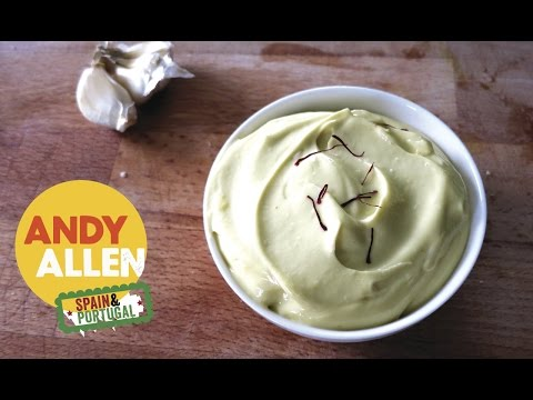 How To | Easy Garlic Mayo (Aioli) Recipe | Andy Allen cooks