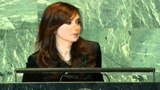 Asamblea General de la ONU 2011. Discurso de la Presidenta Cristina Fernández
