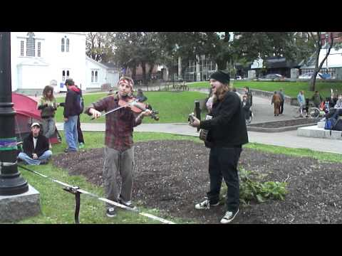 Occupy Nova Scotia: Music, Tight-Rope Walking, Creativity & Imagination