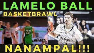 LaMelo Ball: NANAMPAL ng Kalaban. Nauwi sa basketbrawl
