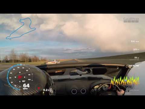 Jimmi Lap Bedford Autodrome Mazda Mx5 28/01/2017