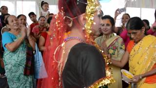 Shree Krishna Rukmini Vivah - Bhajan - Mujhe Shyam Sundar ke Dulahaniya ► SRD BHAKTi 2016