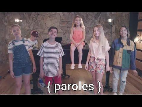 Kids United Nouvelle Génération - Summer Medley { Paroles }