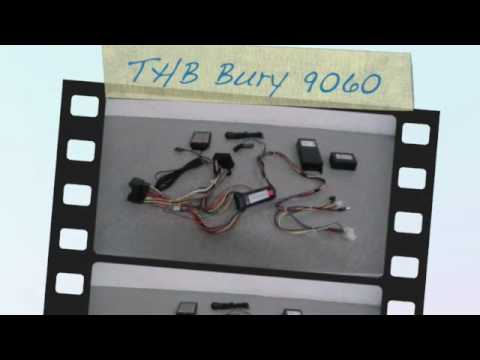 hqdefault retrofit thb bury 9060cc can bus interface from speedsignal de bury car kit wiring diagram at gsmx.co