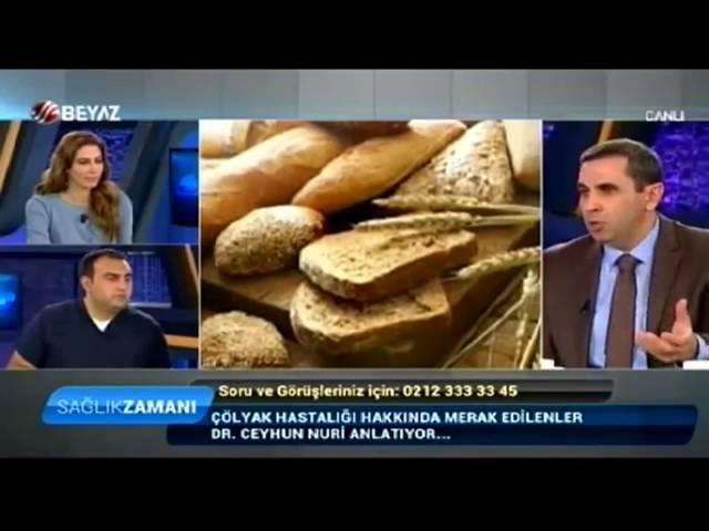 Çölyak - Dr. Ceyhun Nuri - Beyaz TV Sağlık Zamanı Programı