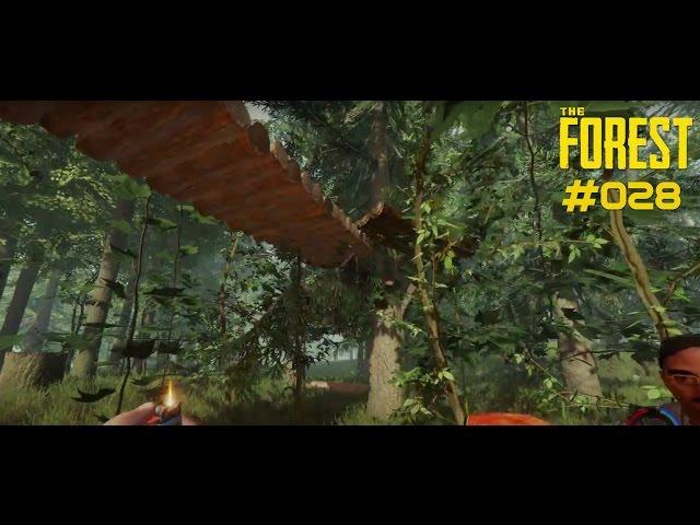 Let's Play The Forest | Ein Baumhaus für die Sicherheit| Folge #028