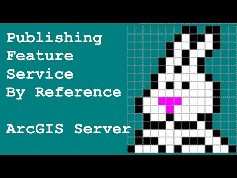 ArcGIS Server - Publishing Feature Service (by Reference)