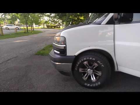04 Chevy Express Custom DRL & Tail Lights