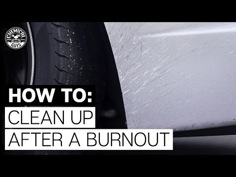 How Do You Remove Burnt Rubber? - Chemical Guys
