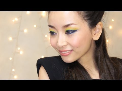 Colorful Rock Chic Makeup