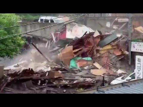 MASSIVE DESTRUCTION! 29 Missing As Time Runs Out For Victims of Atami, Japan Landslide