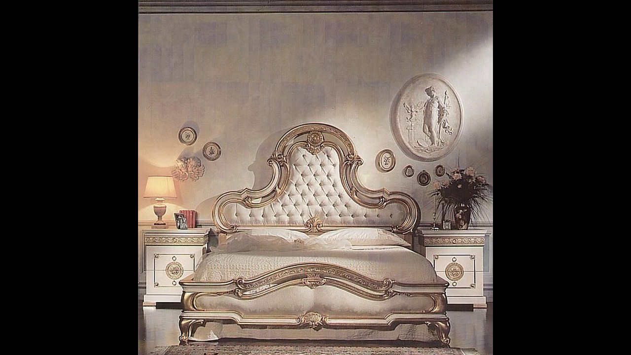 decoracin italiana del dormitorio