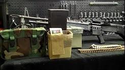 M60 Machine Gun Ammo Carrying Systems
