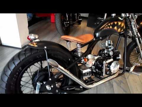 Margies 125cc Linea Custom Modelo Curtiss
