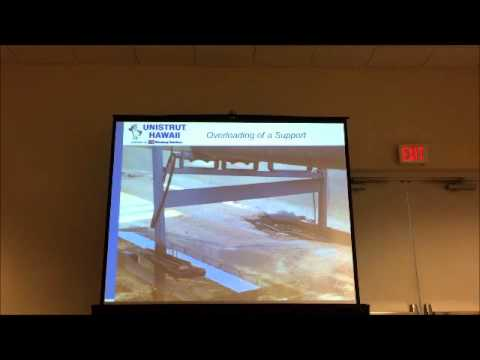 Non-Penetrating Rooftop Supports - Unistrut Hawaii