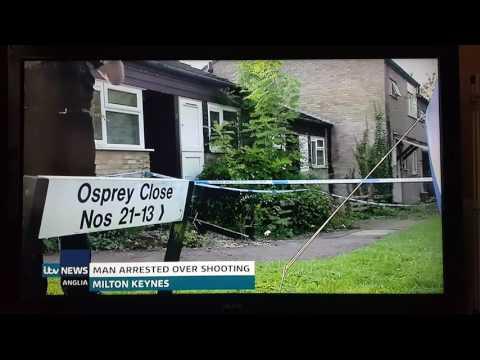 The Milton Keynes eaglestone shooter is arrested.