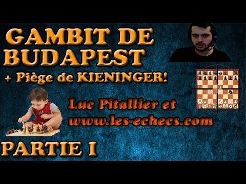 1 Ouverture d'échecs Gambit de Budapest, piège de Kieninger | Budapest Gambit Kieninger Trap