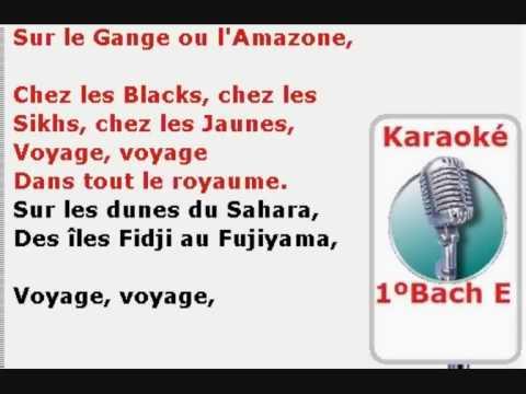 karaoke voyage voyage