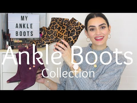 My Ankle Boot Collection | Peexo