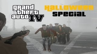 Let's Play GTA IV Left 4 Liberty Infection v5.1 (German) (HD) - Halloween Special