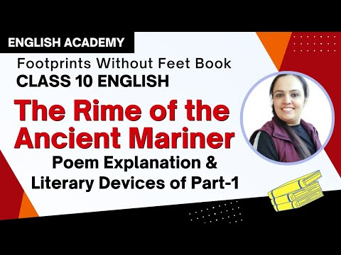 Rime of the Ancient Mariner  Part  Explanation and Literary devices of - CBSE Class 10