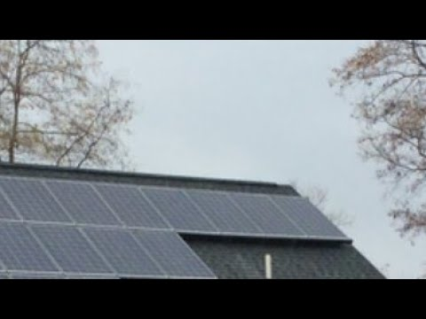 SOLAR PANEL ARRAY OUTPUT | How to Solar Power on a Cloudy Day Pt.1