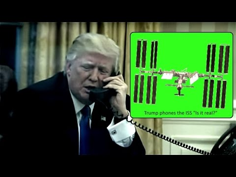Trump Phones The ISS~Is It Real?~