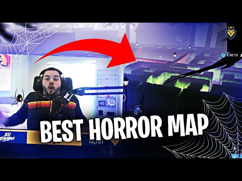 WORLD'S FIRST FORTNITE CREATIVE HORROR MAP! THE BEST MAP YET?! (Fortnite: Battle Royale)