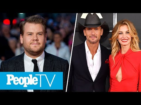 James Corden On Raising Kids, How Tim McGraw & Faith Hill's Marriage Stays Strong | PeopleTV Mp3