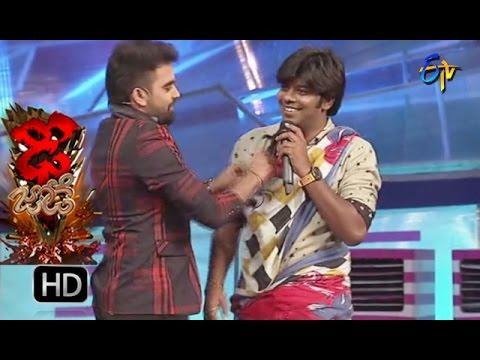 Funny Task – Dhee Jodi - 31st August 2016 – ETV Telugu
