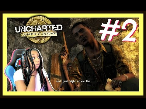 NOW I'M IN JAIL!!!! | UNCHARTED: DRAKE'S FORTUNE EPISODE 2 (CH.  6-10) FULL GAMEPLAY!!!