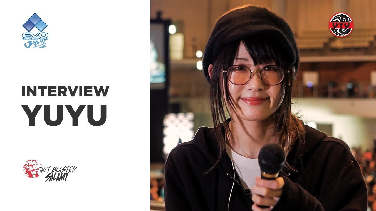Uyu Yuyu Interview Evo Japan 2019 Youtube