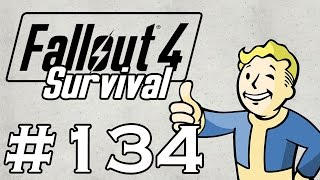 Let s Play Fallout 4 - SURVIVAL - NO FAST TRAVEL - Part 134 - Companion Get