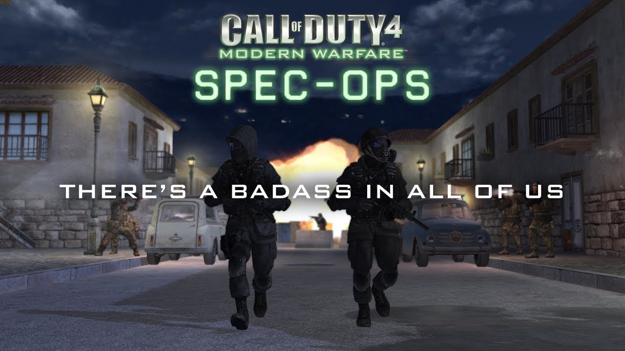 Call of Duty 4: Special Ops Mod Trailer