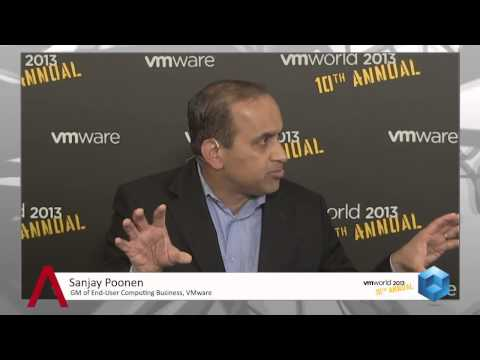 VMware - Sanjay Poonen: What has Changed End-User Computing (VMworld 2013)