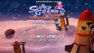 Super Granny Winter Wonderland Gameplay