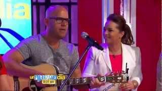 """Gianmarco Cantando en Miami en el Programa """"Un Nuevo Dia"""""""
