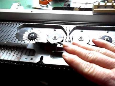 Setting Up A Singer Or Studio Knitting Machine For Absolute Beginners