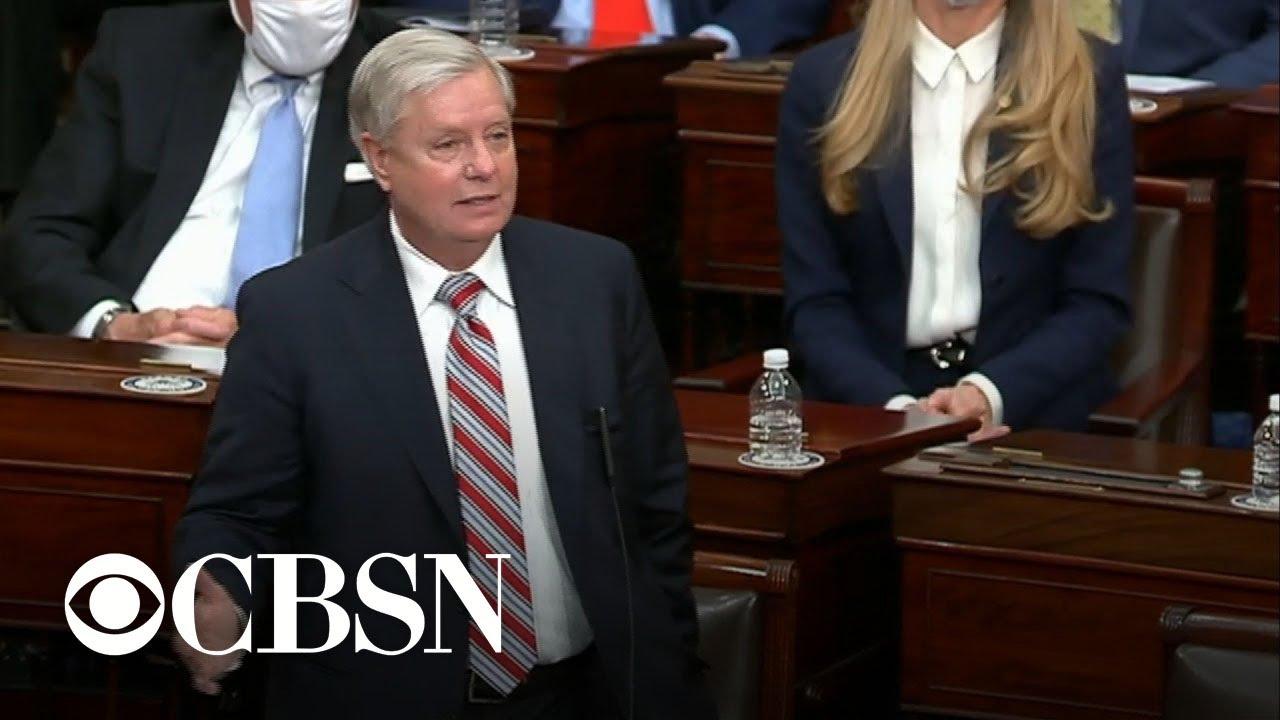 Sen. Lindsey Graham: 'It is over'